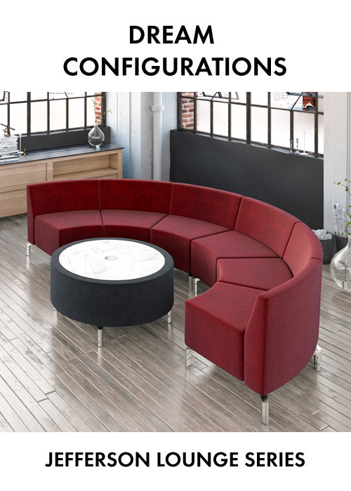 Jefferson lounge series dream configurations