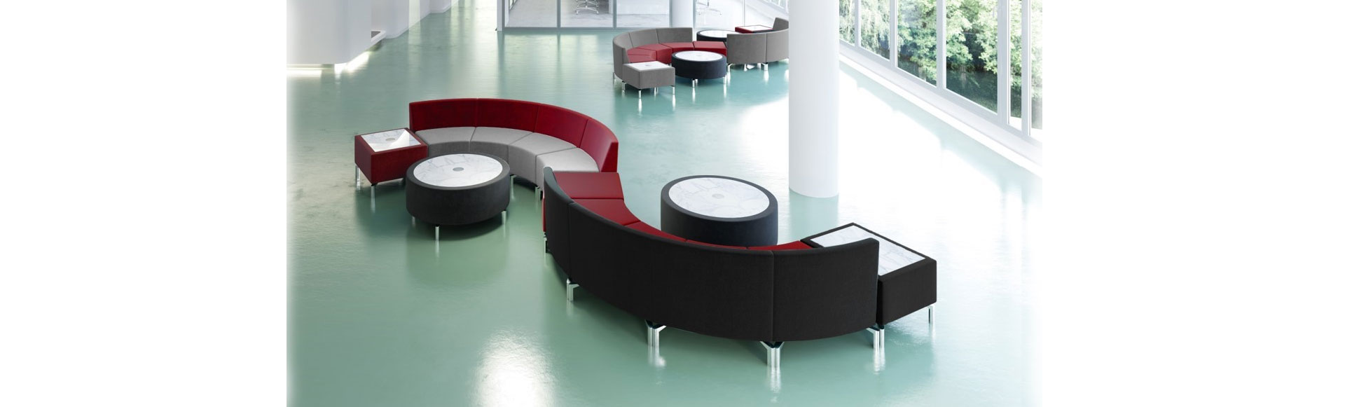 Jefferson Lounge series of modular furniture